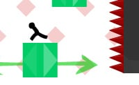 Joga este jogo desafiante de destreza e melhora as tuas habilidades durante os jogos! Pula de plataforma em plataforma e escala as paredes para alcançar os postos de controlo. Há blocos móveis que podes usar, mas cuidado, eles podem esmagar-te também! Lembra-te de ter cuidado com os espinhos nas plataformas e paredes ...