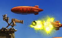 Vai e luta com o Joe e deixa que a paz retorne no ar! Atira em todos os balões, zepelins e outros veículos inimigos para os impedir de chegar à tua fortaleza no ar. Podes jogar este jogo no modo de campanha e de sobrevivência. Este último é muito mais difícil!
