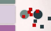 Move a fila de blocos coloridos de modo a que os círculos coloridos que se movem na tua direção toquem num quadrado da mesma cor. Podes jogar nos modos Clássico e de Reflexos, nos graus de dificuldade fácil ou difícil.