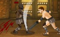 Este jogo � sobre Spartacus, um tr�cio que foi derrotado pelo ex�rcito romano e que se tornou um gladiador. Agora ele est� a lutar para se tornar num homem livre e a vingar-se com um ex�rcito de escravos fugitivos. Apoia-o na arena e ajuda-o a derrotar os seus advers�rios!