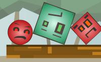 Troca os blocos e/ou bolas exatamente no momento certo, de modo a que as formas vermelhas (blocos ou bolas) caiam, e as formas verdes permaneçam no quadro. Pensa logicamente e atua rapidamente, para que apenas as formas vermelhas desapareçam!