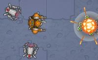 Besouros-robot estão aí para te matar. Cuida de ti próprio e não deixes que eles te apanhem! Também podes ativar o modo 'rajada', onde não tens que clicar para atirar.