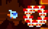 Em Ice Beak, o pássaro gelado combate o seu inimigo: o fogo . Ele deve passar os monstros de fogo e os mares de fogo com segurança. Ele pode disparar gelo aos monstros de fogo para transformá-los em cubos de gelo que não te vão incomodar mais. Podes guiá-lo até à saída?