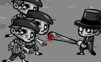 Grupos de zombies vêm em tua direção na rua, e terás que lutar contra eles à tua conta. Usa a tua arma e abate-os a todos a tempo, não deixes que eles te apanhem! Depois de cada nível tens a possibilidade de realizar atualizações. Quando tiveres ganho dinheiro suficiente, podes, por exemplo, escolher uma arma diferente. Quando começares a jogar tudo ficará claro!