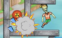Este é o pacote de níveis do divertido jogo Zombies TNT! Coloca barras de dinamite nos lugares certos, para explodir as pedras e matar os zombies.