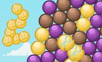 O ar est� cheio de bolhas coloridas! Atira bolhas da mesma cor a um grupo e ver�s que, quando h� um n�mero suficiente deles, as bolhas v�o estourar tudo. �s vezes podes atirar bombas contra elas: elas v�o explodir de qualquer forma, n�o importa ao que as bolhas est�o presas. Tenta fazer com que todo o grupo de bolhas desapare�a antes de chegar ao fundo do ecr�!