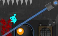 Desiste é um jogo onde uma câmara chamada Tasselfoot tenta convencer-te a parar de jogar. Vai ficar assustado com a câmara ou vais continuar, apesar dos picos, os mísseis disparados contra ti e as plataformas que desaparecem sob os teus pés? Vais desistir ou... vais continuar até o fim?