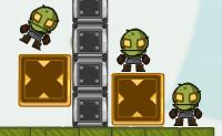 Um ninja chamado Rico quer eliminar todos os zombies que andam pelo seu país. Ele é especializado em ricochetes, mas seria ainda melhor se ele pudesse bater os zombies diretamente. Será que ele vai conseguir fazer todos os zombies desaparecer com o número de tiros que ele tem à sua disposição?