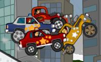 O Rod gosta realmente de carros bonitos e rápidos. Tu também? Corre junto com ele, no Québec, em Londres, no Qatar, em Nova York, em Tóquio, em Nevada ou em São Francisco! Podes escolher entre uma variedade de carros diferentes. Entre eles estão o 'Vingador', o 'Coupé da vila', o 'Stingray', o 'Monte Carlo', o 'Garanhão', o 'Woodbine', o 'Bug', o 'Bullit', o 'Longanimobile', o 'Jambogini' e o 'Cruzeiro Nuke'. Quanto melhores forem os teus resultados mais carros tens para escolher! Na oficina do Rod também podes alterar os carros: como mudar a sua altura, escolhendo rodas maiores ou menores, ajustar da suspensão. Também podes comprar novos motores, escapes e rodas.