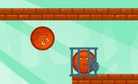 Podes ajudar as bolas laranja alcançar a outra bola laranja (o seu irmão) e libertá-lo da gaiola pequena em que ele está fechado? Podes usar as bolas de canhão explosivas para te ajudar, então pensa sobre qual é a maneira mais lógica e eficiente!