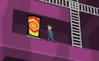 Estás a trabalhar na esteira de uma fábrica de caixas e dia após dia dobras caixas. Algo que realmente te leva a curvar, especialmente quando num determinado momento a esteira corre solta e começa a mover-se cada vez mais rápido! De repente, tudo fica preto. No momento em que recuperas os sentidos estás num mundo cubículo: ele parece-se com uma caixa. O cubo pode girar em todas as direções. Tenta sair desse mundo movendo-te para a saída (porta às riscas vermelhas e amarelas). Vais ter que passar um monte de obstáculos e também podes apanhar belas pedras preciosas.