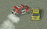 Um jogo agradável e rápido de rallies, onde tens que tentar acabar na primeira posição com o teu rápido carro de rali! Bate em tantas moedas 'T' vermelhas quanto possível, para  pontos de bónus!