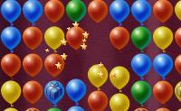 Reduza os seus níveis de stress, clicando em grupos de 2 ou mais balões iguais.