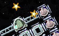 Constrói a tua própria nave espacial com elementos que têm todos os seus pontos fortes e fracos e tenta voar para o espaço, tanto quanto possível, para apanhar o maior número de estrelas, meteoritos, combustível e outros bónus! Evita as naves pequenas vermelhas que vêm contra ti: elas querem danificar a tua nave espacial.