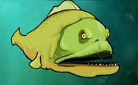 A piranha mortal ainda não parou de comer. Podes assegurar que ela recebe a sua porção diária de carne? Debaixo de água, ela olha para a presa e, logo que tenha visto uma, ela salta para atacar. Quanto mais ela come, mais ela sobe na cadeia alimentar. Só quando a fome do peixe mortal é subjugada, ele se acalma - e então podes avançar para o próximo nível!