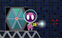 Neste divertido jogo de habilidade ajudas um alienígena roxo a chegar ao portal hexagonal, que vai levá-lo ao próximo nível. Vais ter que ativar ou desativar interruptores com a ajuda dos cubos que podes mover. Boa sorte!