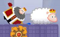 Porque é que o castelo do Rei Rolla está cheio de ovelhas? Algumas delas têm até mesmo que colocar coroas sobre as suas cabeças: Está a ficar cada vez pior! O rei quer anular esses intrusos lanosos. Felizmente, ele tem uma forma muito arredondada e o rolamento é a sua especialidade: ele persegue-as no seu castelo rolando contra e sobre elas. O rei pode até mesmo voar! Este poder é muito limitado, então usa-o de forma eficiente.