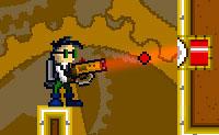 O P U N K está a andar num labirinto onde as portas verdes tentam impedi-lo. Felizmente, ele pode disparar um feixe de laser para os bloqueios que podem abrir as portas. Estes são cubos brancos, que ele pode preencher com o seu feixe de laser vermelho até que estejam completamente vermelhos. Também podes usar espelhos, quando um bloqueio estiver fora de alcance. Tem cuidado para não acertar no P U N K com o seu próprio feixe de laser que é refletido pelos espelhos: isso vai matá-lo!