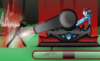 Continua a atirar para matar as hordas de inimigos que estão próximas de ti. Cada nível contém cinco ondas. Também podes usar terramotos e drones! Abate os pára-quedas: elas carregam bónus com eles!