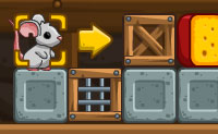 Que rato não gostaria de viver num celeiro onde o queijo é armazenado? O rato neste jogo de mente está a ter o momento da sua vida. Há apenas um problema: ele não consegue atingir os queijos por si mesmo, mas certamente tens algumas soluções para ele. Podes ajudá-lo a comer a sua parte? Tem cuidado com as ratoeiras!