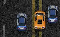 Este é um jogo cheio de colisões: partes um carro após o outro. Conduz à frente deles e depois trava: vais causar um acidente a que a pessoa por trás de não irá sobreviver. Em cada nível vais ter que eliminar um certo número de carros: este será um trabalho muito difícil, mas se tiveres habilidade suficiente vais certamente cumprir a tua missão! Depois de cada nível podes comprar atualizações úteis, como um motor poderoso, um forte para-choques traseiro ou uma melhor aerodinâmica .