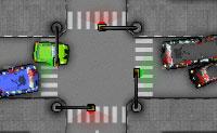Bem-vindo à Cidade dos Acidentes, onde o tráfego é sempre pesado e as estradas estão em mau estado. Salva tantas vidas quanto possível, usando os semáforos para evitar colisões e engarrafamentos!