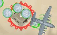 Neste jogo de guerra atiras em soldados em quart�is e noutros edif�cios no aeroporto, para conquistares todo o aeroporto. Podes fazer isto tanto a partir do ch�o (a partir dos quart�is que conquistaste) como a partir do ar (das