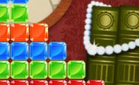 Clica na série de três ou mais pedras idênticas para excluí-las da grelha. Faz isso na ordem correta, porque quando deixas algumas gemas, o jogo acaba.