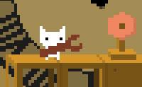 Ajuda o gato a alcançar a sua meta antes de o relógio bater as doze! No caminho, ele pode apertar todo o tipo de parafusos para atrasar o relógio alguns minutos para atrás.