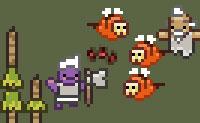 Foge da masmorra e elimina os predadores que estão aí para te matar!