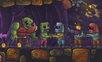 Nesta sequela de Zombotron és um robot à procura de combustível para a sua máquina do tempo. Queres marcar tantos pontos quanto possível. Enquanto o teu tanque de combustível não estiver cheio, não podes fugir do teu planeta! Evita os robots malvados que andam por toda a parte.