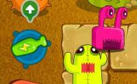 O jogo 'Defende a tua cenoura gigante' é divertido de jogar, e na sequela, a 'Cenoura gigante no deserto', é ainda mais divertido! Não deixes que os monstros alcancem a tua cenoura gigante! Podes atualizar a tua torre de defesa com os pontos que ganhas ao eliminar um inimigo.