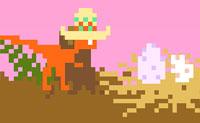 O teu planeta foi atingido por cometas! Tenta fugir o mais rápido possível, para que possas escapar dos cometas que estão a voar por toda parte. Durante a execução, deves apanhar ovos para ganhar pontos extra. Cuidado: se quiseres jogar o jogo, clicas no ícone rosa 'Play', na parte superior central .