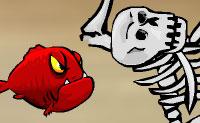 A piranha letal está à procura de ilhéus comestíveis. Ele acabou numa misteriosa ilha que não é visível em qualquer mapa . Assim que avista a vítima, ele salta para atacar. Se possível ainda afunda barco da vítima. Quanto mais ele come, mais ele sobe na cadeia alimentar. Só quando a fome da piranha for aliviada podes passar para o próximo nível!