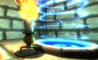 O Homem-vela é uma vela viva que vai em busca do significado da sua vida. Por que ele é tão diferente de todas as outras velas? Estás a andar num calabouço escuro, cheio de abismos . Não caias no abismo ao caminhar no escuro! De vez em quando podes fazer um pouco de luz, mas você só dura 10 segundos , usa-a de forma eficiente !
