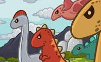Os homens das cavernas e os dinossauros viveram juntos numa terra onde ma��s suculentas e vermelhas crescem nas �rvores . Os dinossauros gostariam de apanhar as ma��s vermelhas , mas os homens das cavernas n�o v�o deix�-los comer das suas macieiras . Eles defendem o caminho para o seu pomar com for�a e mestria. Vais colocar as torres de defesa no lugar certo, a fim de os dinossauros n�o poderem alcan�ar o pomar?