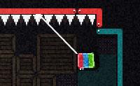 Uma televisão andante, um labirinto cheio de perigos e toda uma série de atualizações... estes são os ingredientes do divertido jogo Crash TV! Cada vez que andas numa chapa de metal podes fazer uma atualização. Vai em busca de uma escotilha onde podes desaparecer completamente, para o nível seguinte: verás automaticamente um sinal com uma seta abaixo / S sobre ele . Faz saltos duplos, senão vais cair em baixo, nos picos, isso é uma morte certa. A corda que te permite passar de um ponto para o outro é indispensável, também!