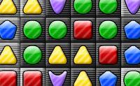 Muda as formas para eliminar linhas ou colunas de tr�s ou mais formas semelhantes! Se fizeres isso corretamente, podes at� fazer mais do que uma s�rie desaparecer num movimento!