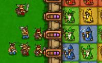 Ajuda os feiticeiros a bater os Vikings de todo o tipo de formas nesta sequela de Feiticeiros vs. Vikings! Limpa séries de dois ou mais feiticeiros idênticos, clicando sobre eles: vais ganhar combinações que fortalecem o teu poder ofensivo. Depois de teres derrotado três vagas um novo dia vai surgir.