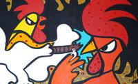 Já deste uma boa risada quando jogaste 'Pinturas famosas'? Então testa o teu conhecimento na sequela deste engraçado jogo, também, com trinta novas paródias de pinturas famosas . Por baixo da pintura, vais encontrar um menu de múltipla escolha com três possibilidades. Consegues adivinhar os originais de todos as pinturas hilariantes?