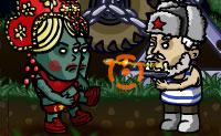 Quando os zombies entram no teu quintal, não duvidas nem um segundo: agarras na tua arma e atacas. Quanto mais zombies eliminares, menos estrelas ganhas: podes usar estes bónus para fazer atualizações. As caixas contêm peças para o teu trator, então abre-as quando as vires!