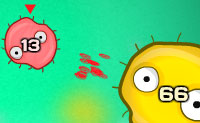 Salva o teu organismo, atacando todos os vírus e impede-os de injetar o seu material de DNA nas células! Há cinco diferentes células: células simples (verdes), células (azuis)  mais fortes, células mais rápidas (vermelhas), células de defesa (cinzento) e células amarelas) que se reproduzem mais rápido. As caraterísticas de defesa, reprodução e alimentação (chamadas 'evolução genes') pode ser redistribuído após cada nível para obter o equilíbrio certo. Também podes atacar um vírus com várias células de uma só vez!