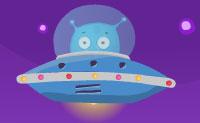 Bobby, o alienígena, quer voltar à sua nave espacial! Felizmente, ele tem uma garra pegajosa que pode aderir a superfícies de madeira. Podes usar todo o tipo de coisas, como pesos e caixas, para levar o Bobby na direção certa. Boa sorte!