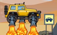 Desta vez, estás a atravessar uma ilha vulcânica com o teu carro 'Rocky Rider'! Completa cada nível o mais rápido possível e tem cuidado para que o teu carro não acabe num poço ou fique danificado de outra maneira. Apanha todos os bónus possíveis, de modo a ganhares uma vida extra no fim do nível!