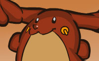 Tomoo é uma espécie de híbrido entre uma rena e uma lebre. Ele pode saltar como nenhum outro. Tenta obter o número máximo de dentes de monstro, mas certifica-te de que apanhas pelo menos um. Outros itens podem ser muito úteis, também, assim leva-os contigo!
