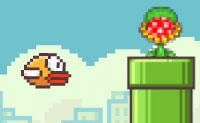 Em Flappy Bird Plant não apenas os tubos verdes são perigosos para o teu amigo emplumado amarelo: também existem as plantas carnívoras! Portanto, fica atento e clica como um louco para levar o Flappy o mais longe possível.