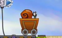 Ajude este caracolzinho animado a chegar à sua casa novinha em folha!