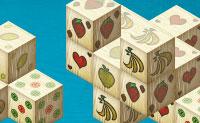 Está tudo no nome: Mahjong com frutas! Encontra pares de blocos que têm o mesmo personagem ou imagens em todos os lados. Não podes eliminar blocos que estão em cima de outro bloco.