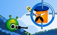 Uma pequena bola verde é continuamente atacada por uma malvada criatura cor-de-laranja. É contigo levá-la através de cada nível ilesa! Clica sobre os pontos certos para iludir os obstáculos, também podes usá-los para eliminar o teu inimigo cor-de-laranja.