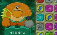 Quando um Nazgûl rapta um gatinho, Meowra, o supergato entra em ação. Com a ajuda de pedras preciosas ele derrota o mal. Diverte-te a jogar este jogo mágico de luta!